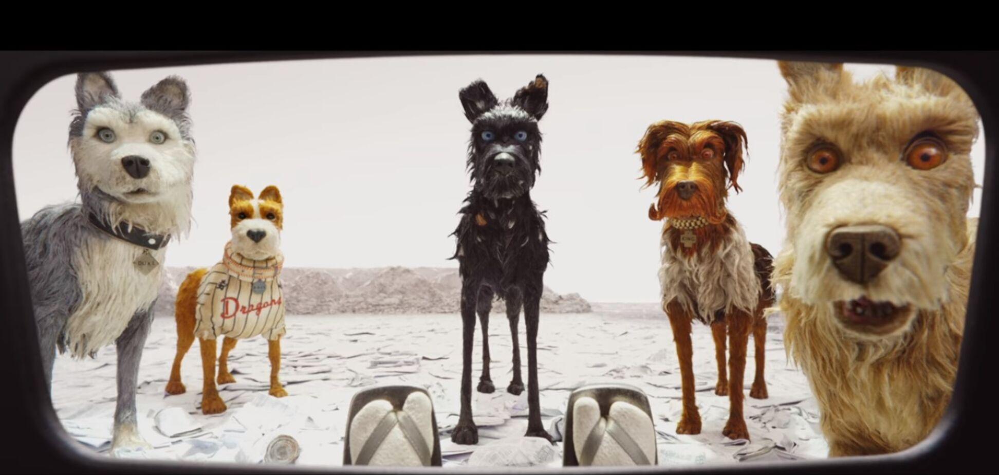 Стрічка 'Острів собак' Веса Андерсона вийде в травні