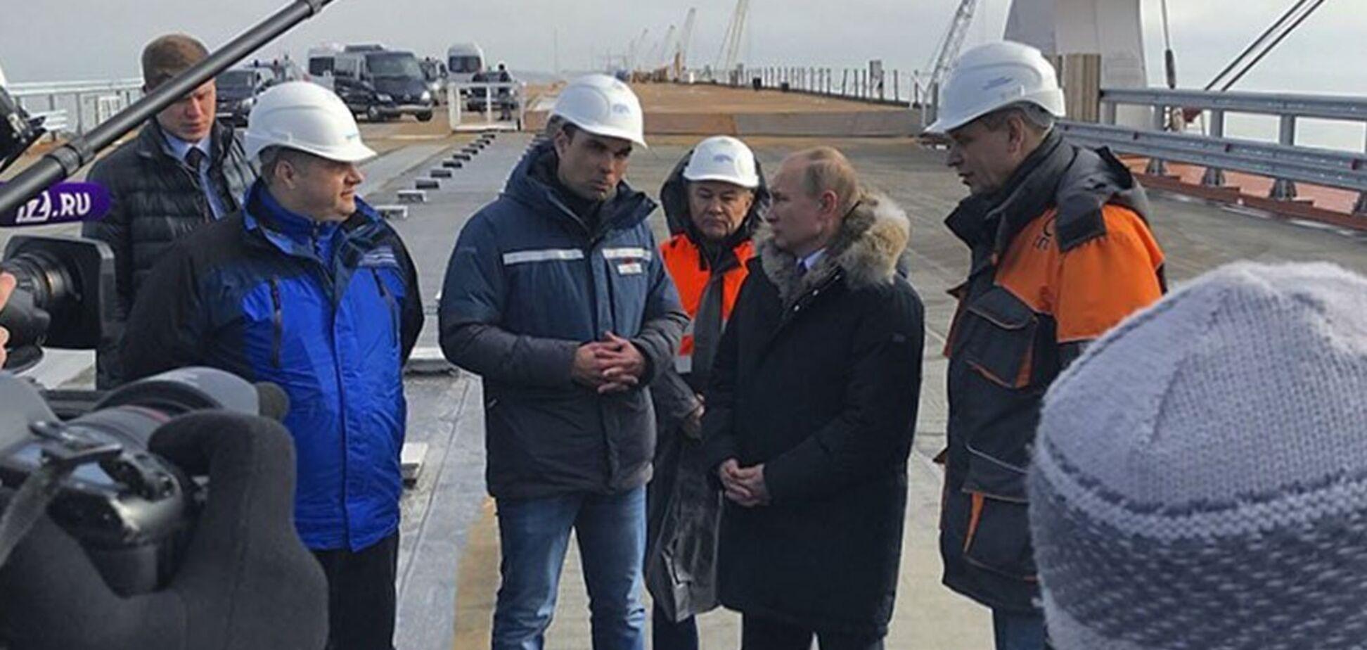 Путін пройшовся по Кримському мосту і зробив гучну заяву