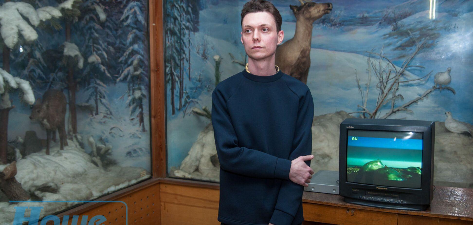 У зоомузеї Дніпра показують відеоарт на тлі опудал