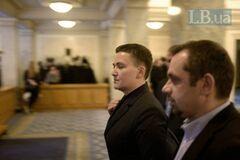 'Маю право': Савченко зізналася, з якою зброєю прийшла в Раду
