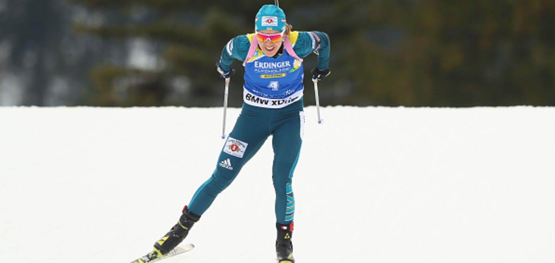 Ідеальний спринт! Українка завоювала медаль Кубка світу з біатлону