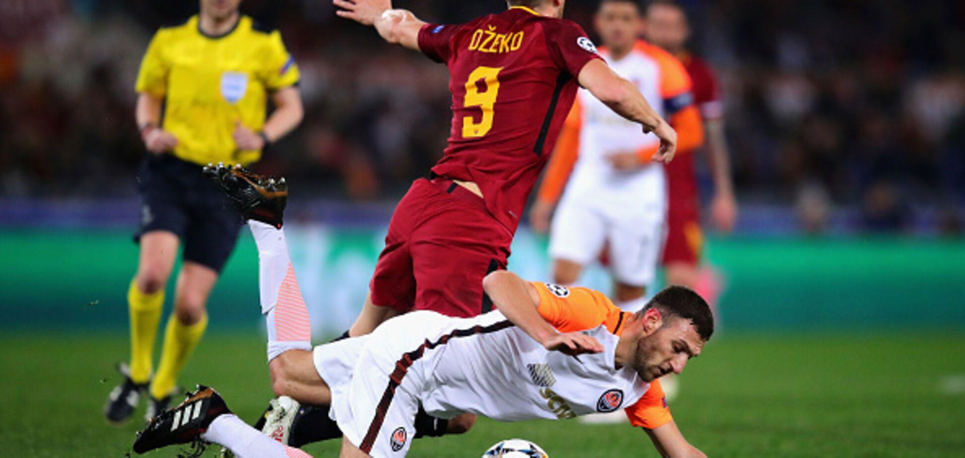 'Рома' - 'Шахтар': УЄФА завів справу на італійців