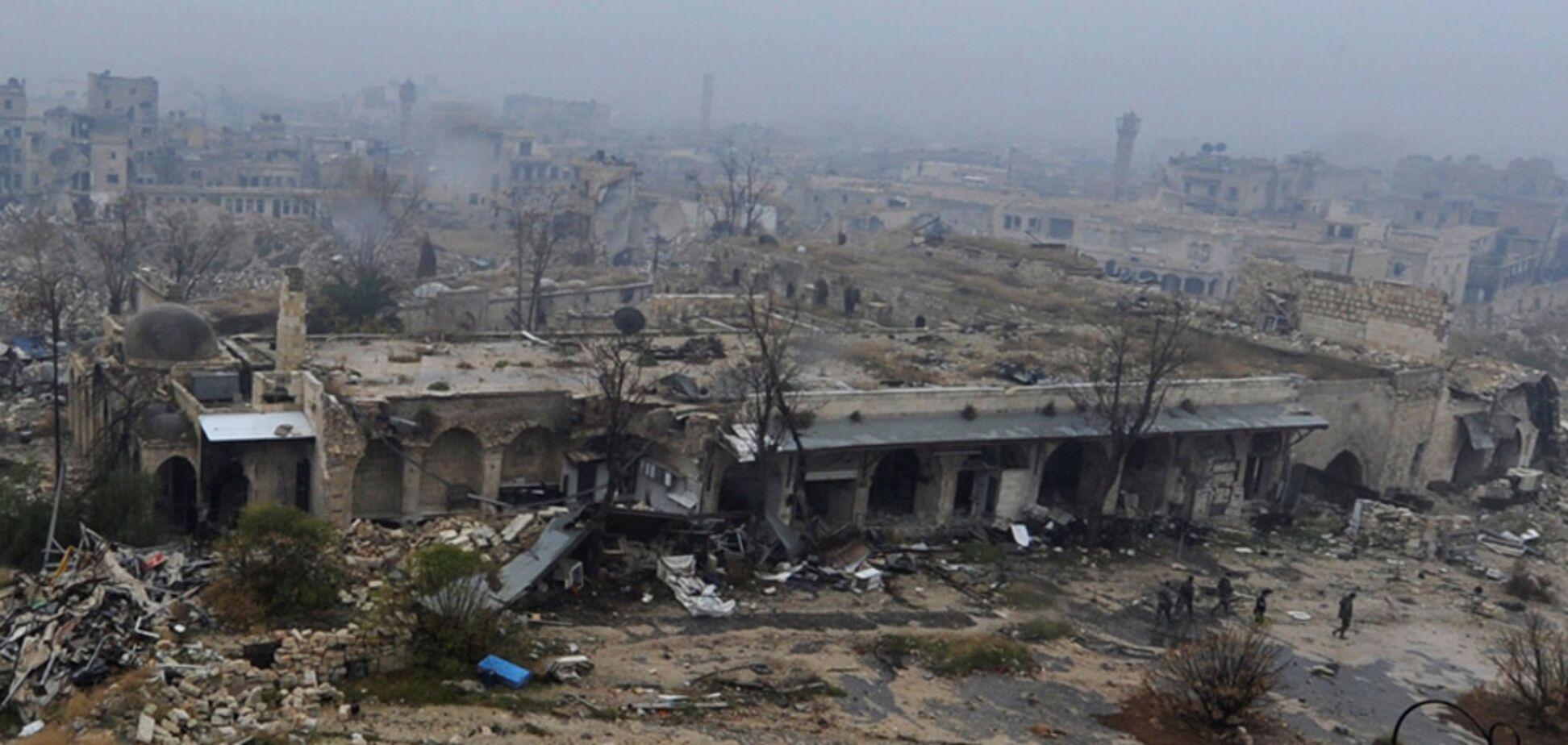 Зруйноване Алеппо показали з висоти