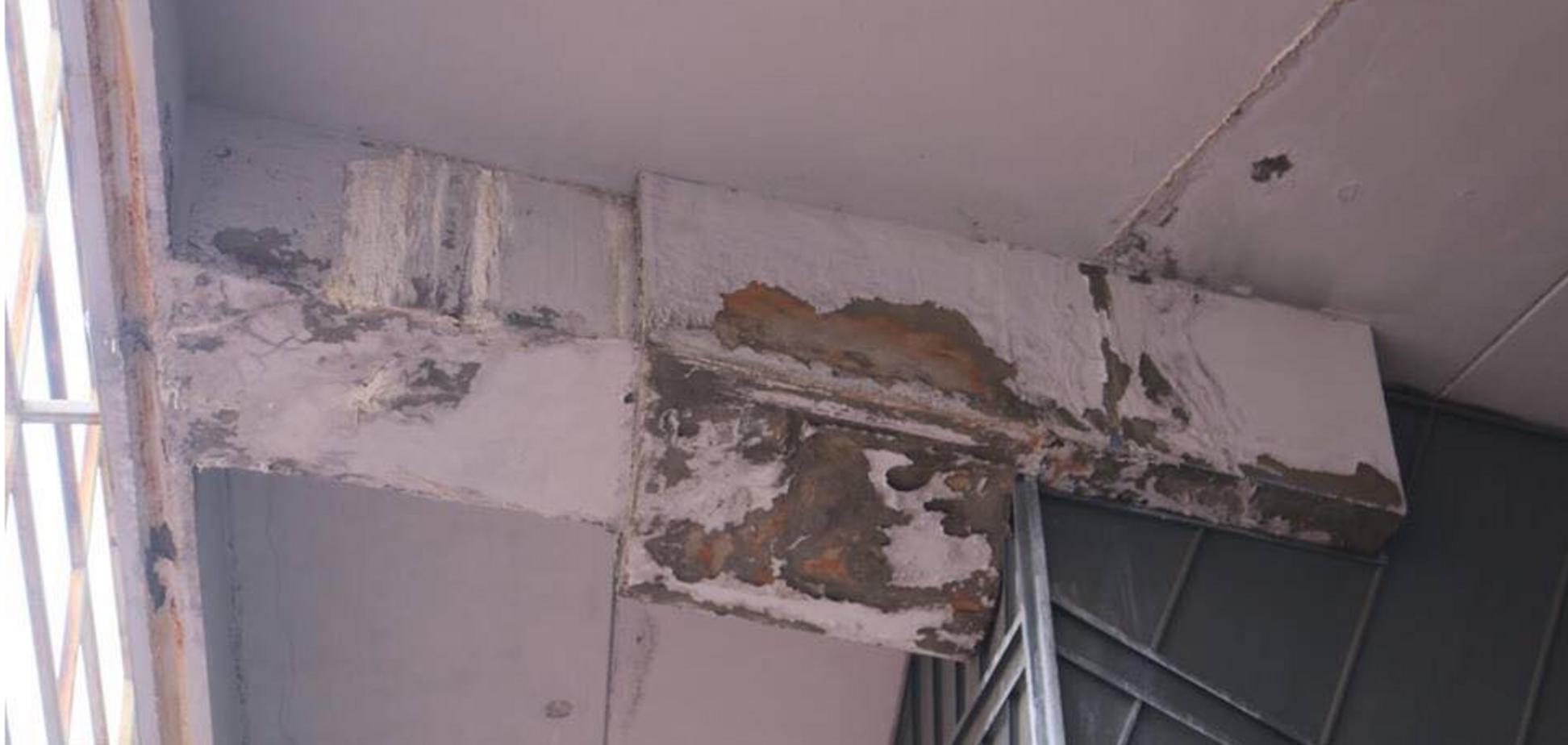 Серьезные проблемы: один из лучших стадионов Украины начал разрушаться - опубликованы фото