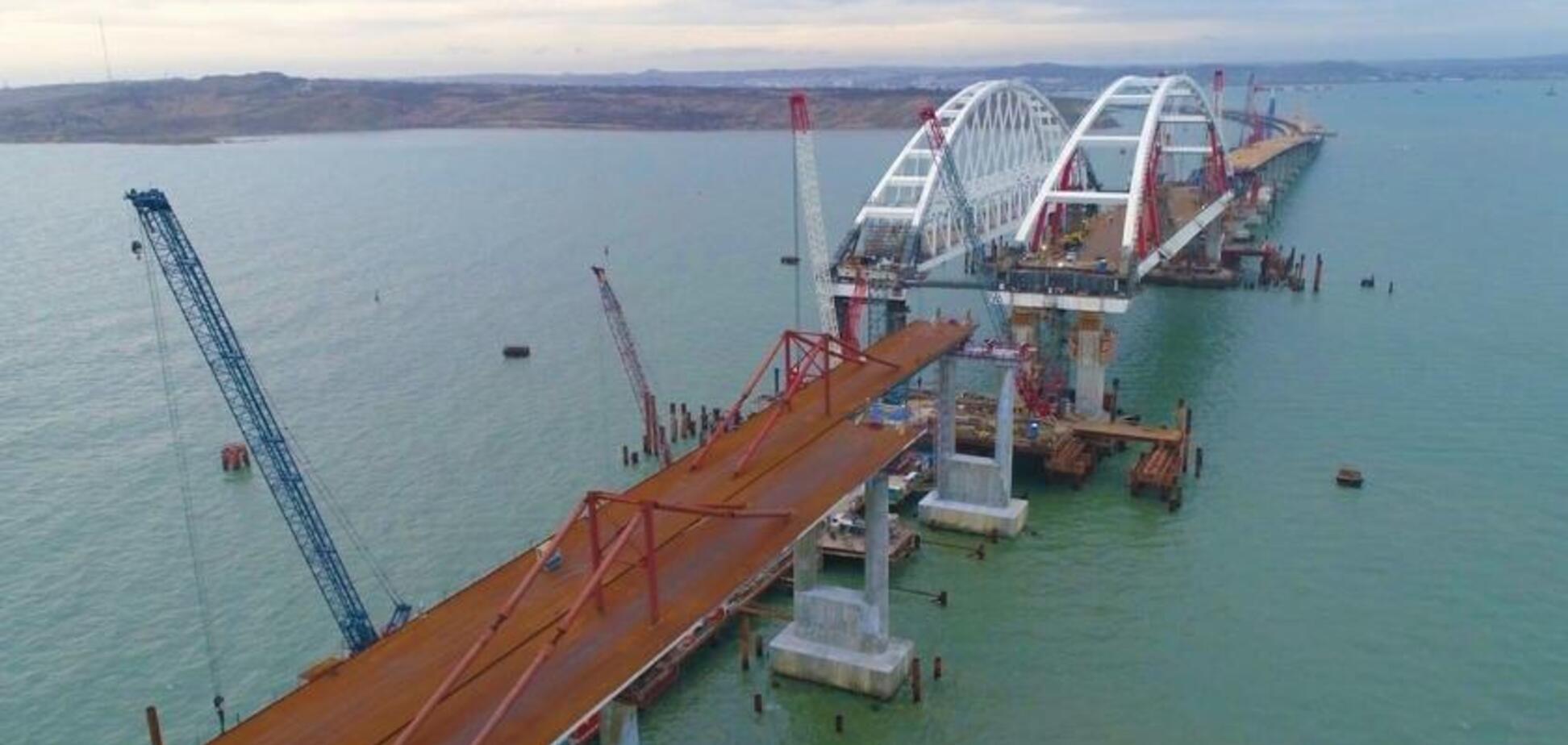 Cтроительство Крымского моста: россиян предупредили об опасности