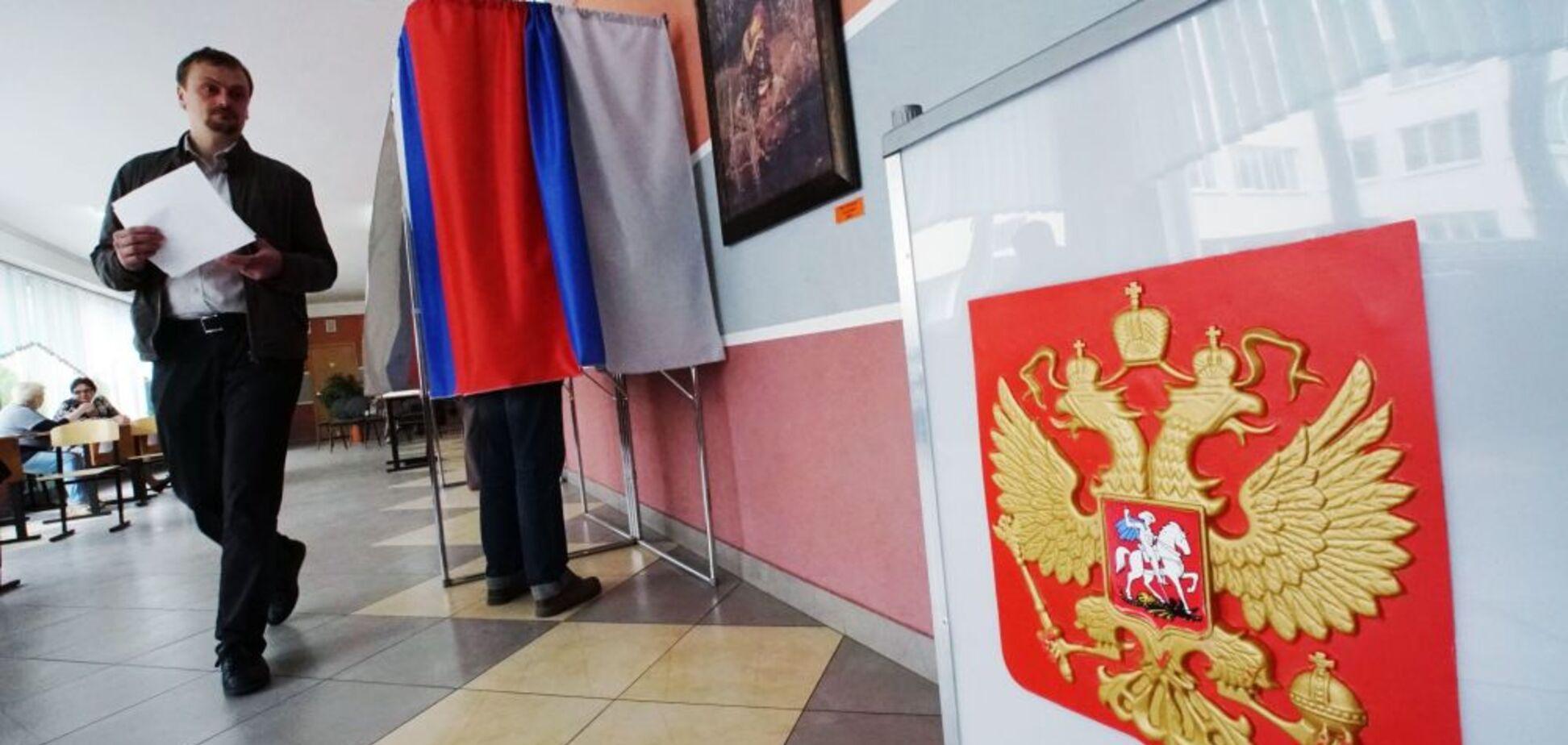 З'їв бюлетень: з'явилося відео незвичайної акції на виборах в Росії