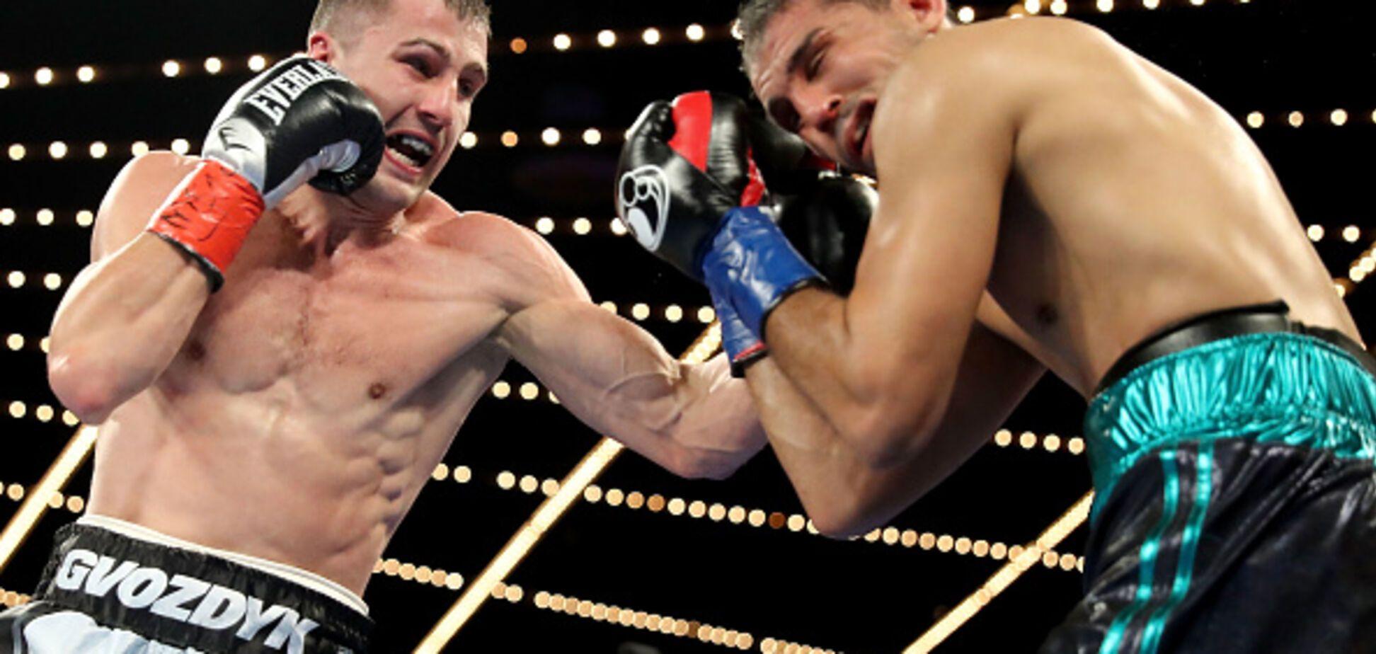 Непереможний український боксер у важкому бою завоював титул чемпіона світу в США