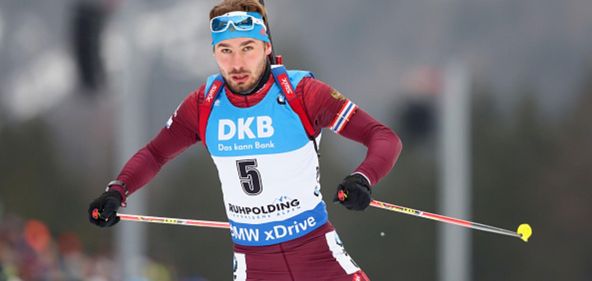 Кращий біатлоніст Росії бездарно втратив 'срібло' в естафеті Кубка світу з біатлону