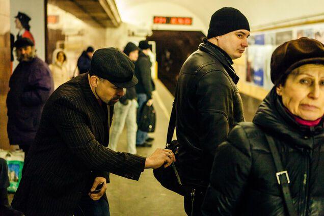 В киевском метро орудовали необычные карманники