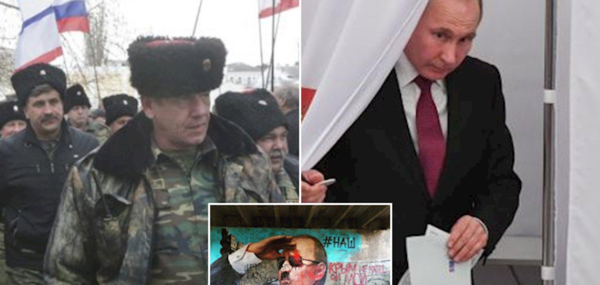 Отбросы со всей России: экс-нардеп пояснил триумф Путина в Крыму