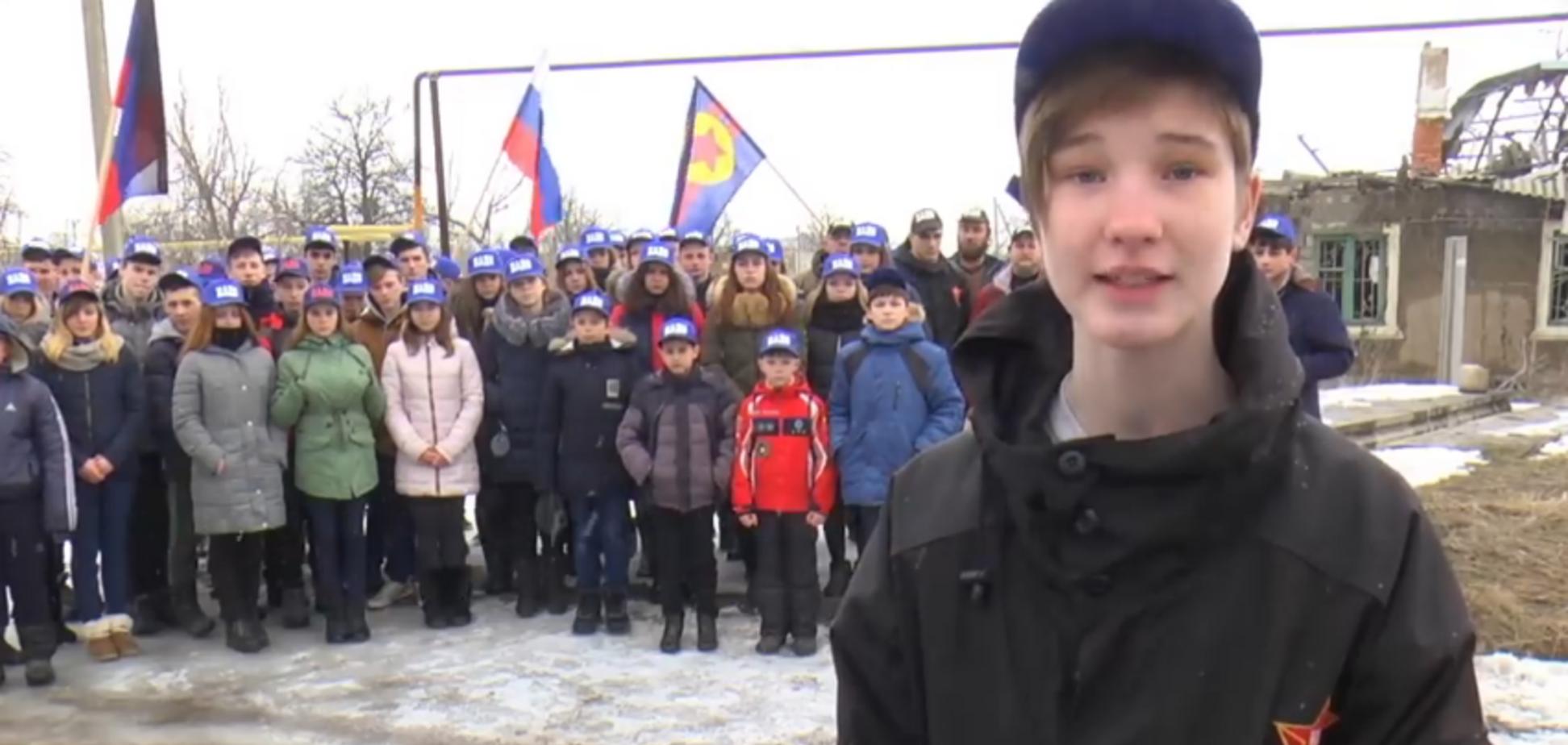 'Ад какой!' Фанаты СССР устроили 'безумные эксперименты' над детьми Донбасса