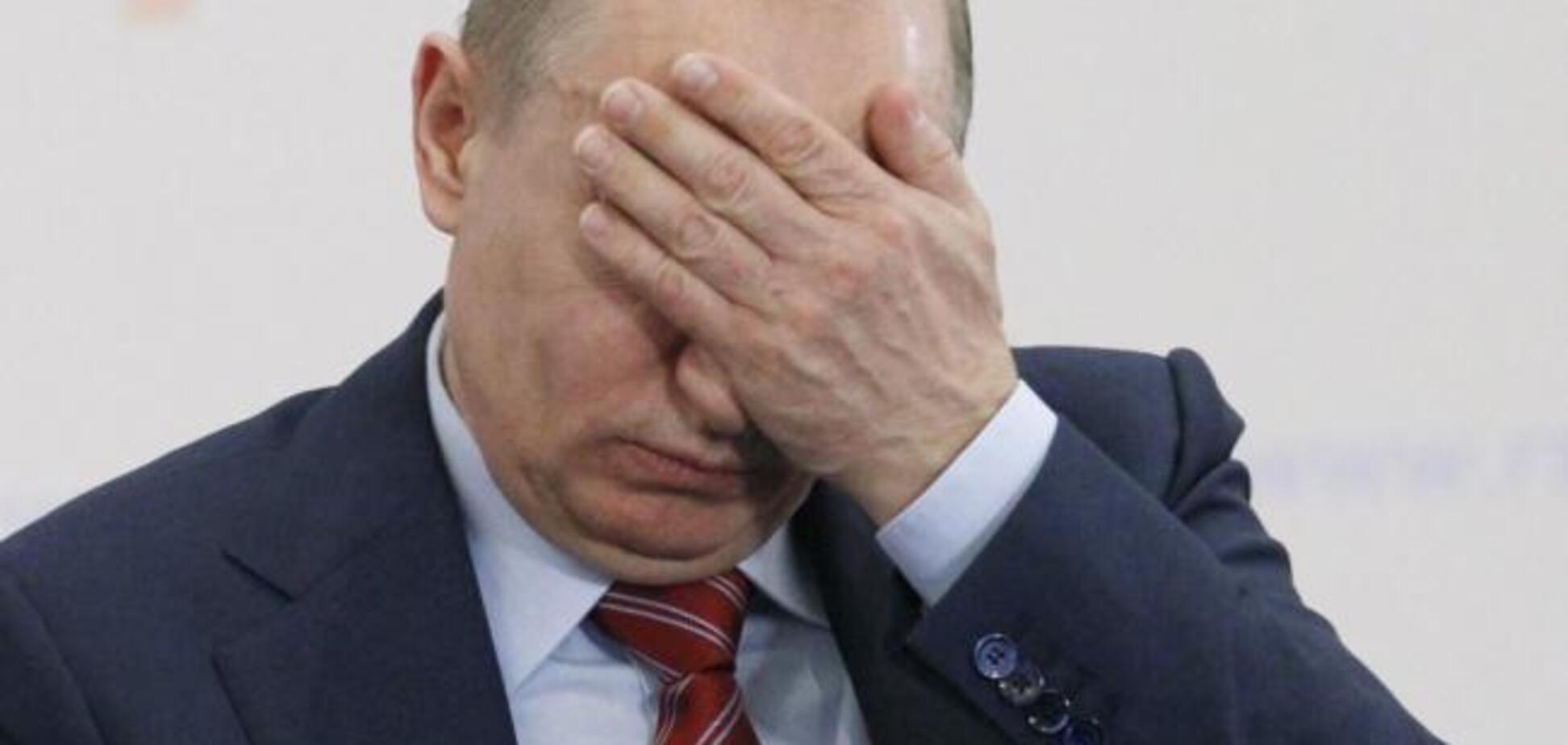 Почти мумия: Путин поразил изменившимся лицом
