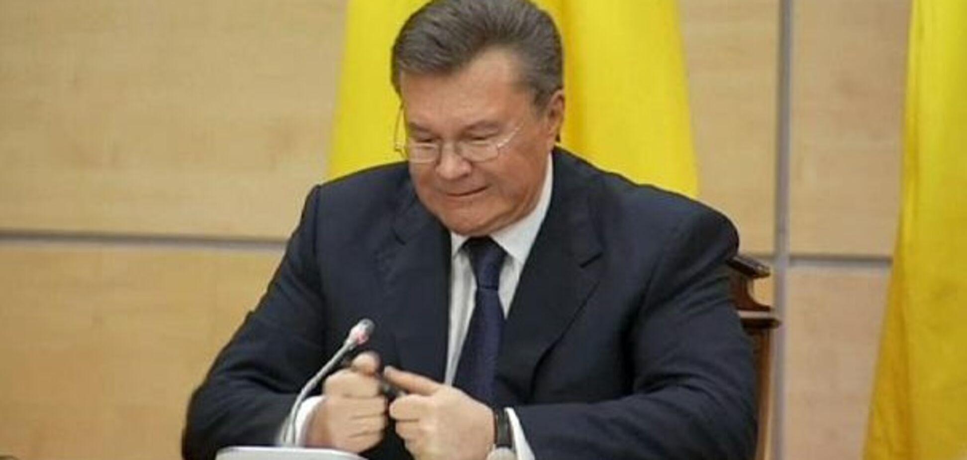 'Артист Тимошенко': Янукович осоромився на прес-конференції