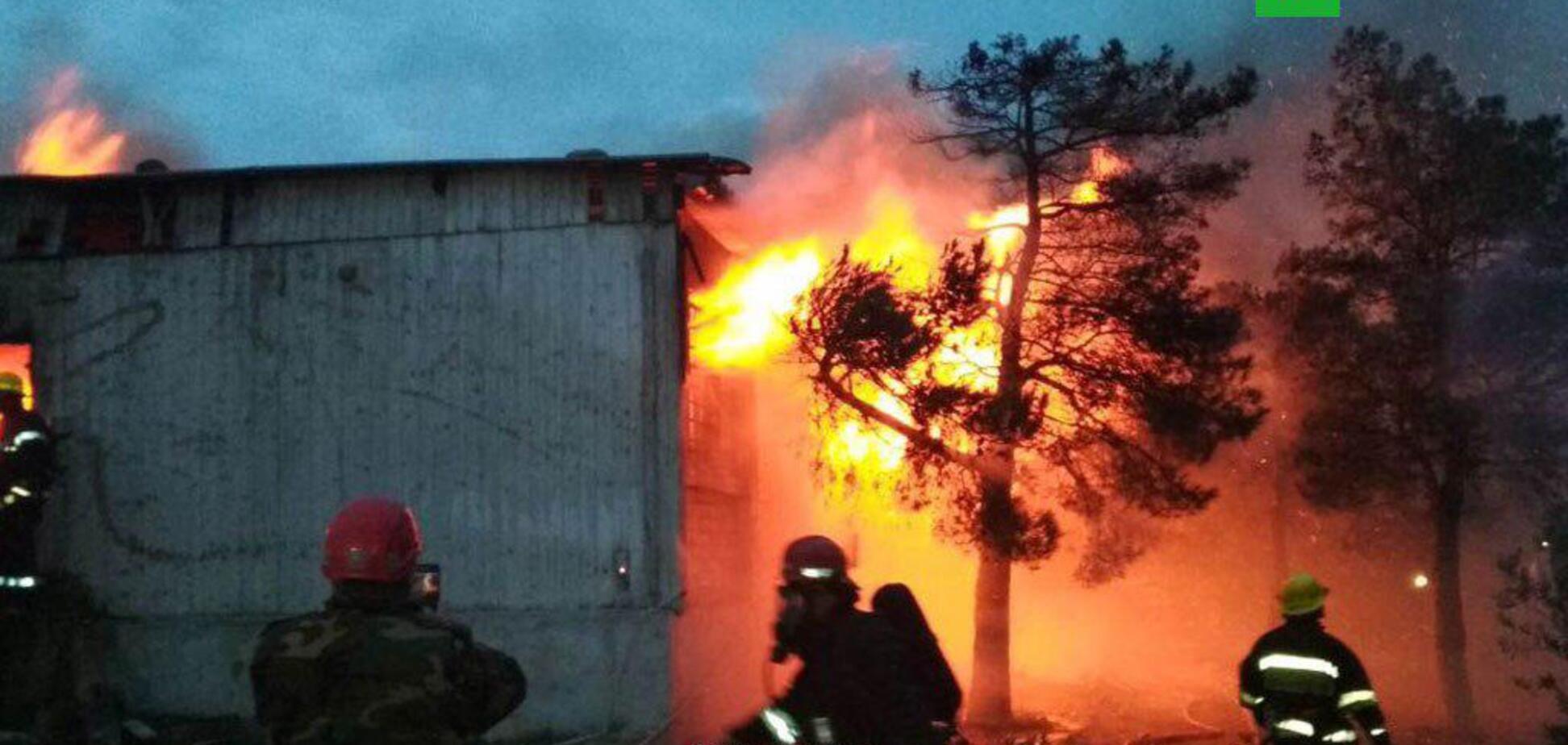 Пожежа в Баку