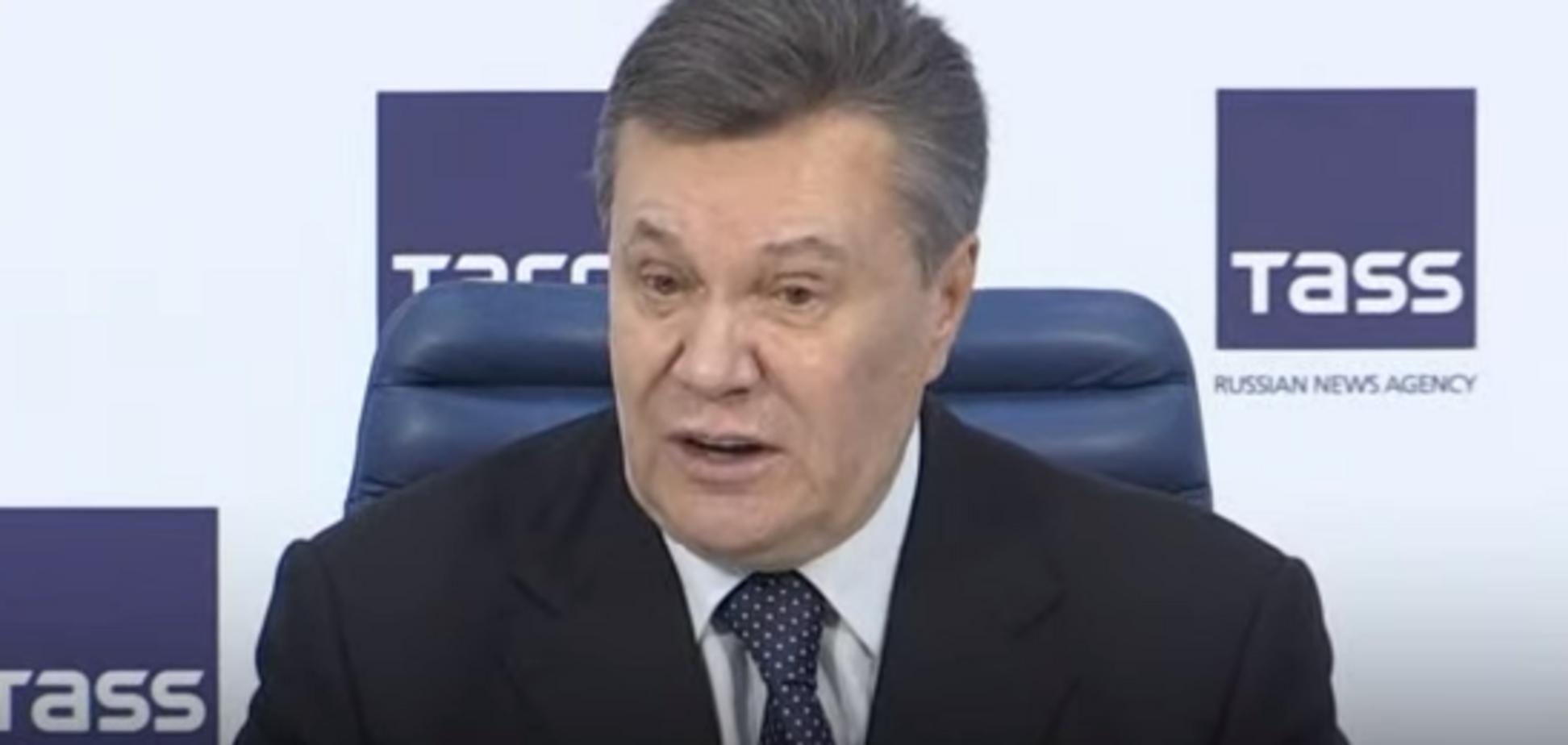 'Самі просили Росію': Янукович пояснив причини окупації Криму і Донбасу