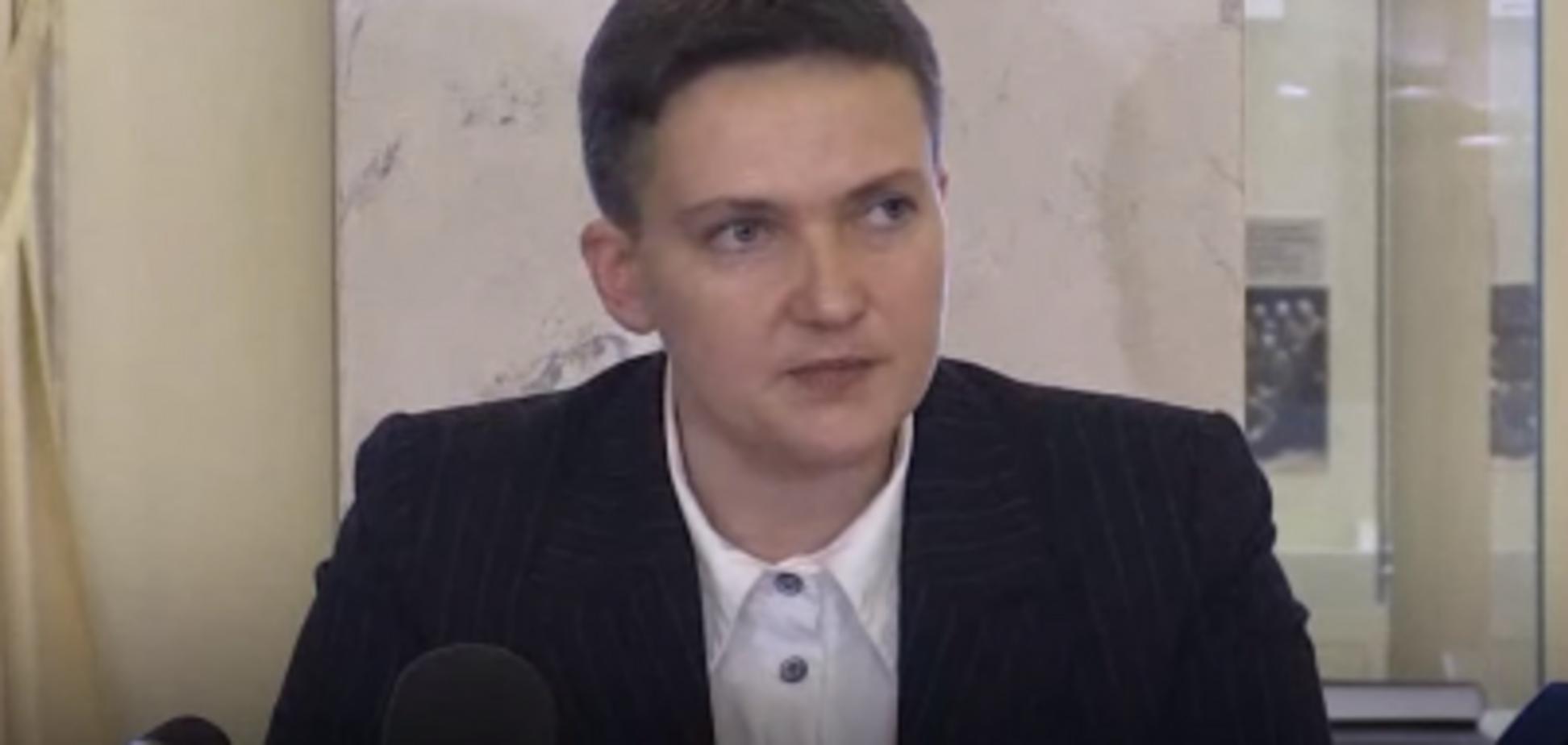 Замовлення Банкової і вибух Ради: нові 'сенсації' від Савченко