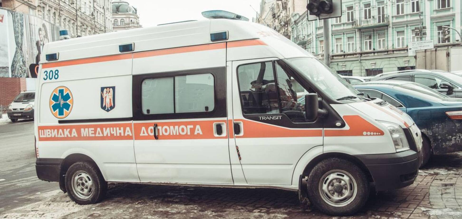 У центрі Києва померла жінка