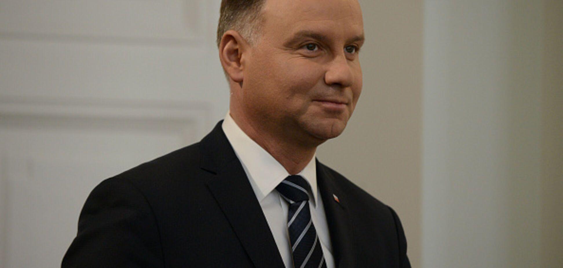 Дуда відмовився вітати Путіна з перемогою