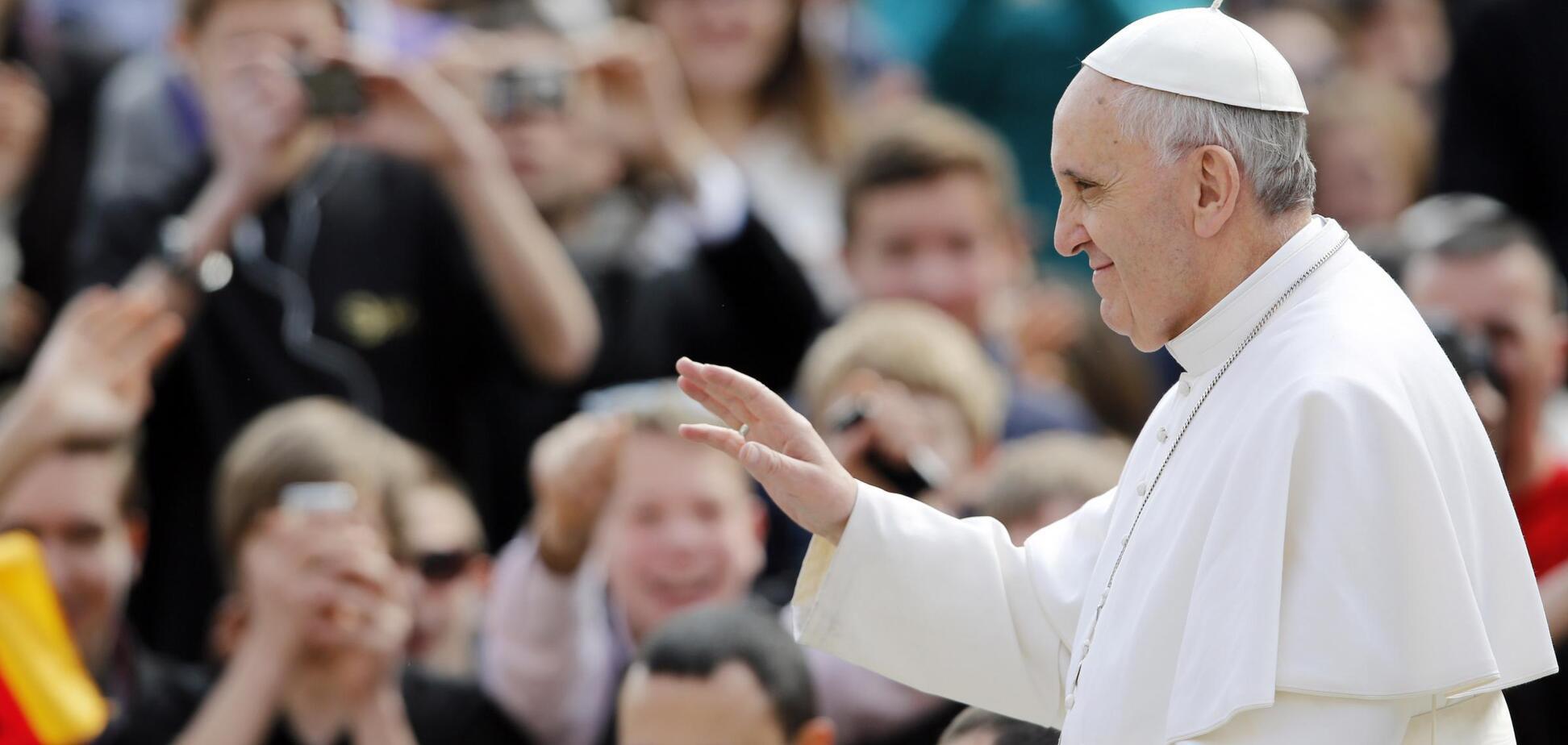 'Когда закончится война': Франциск спросил об Украине