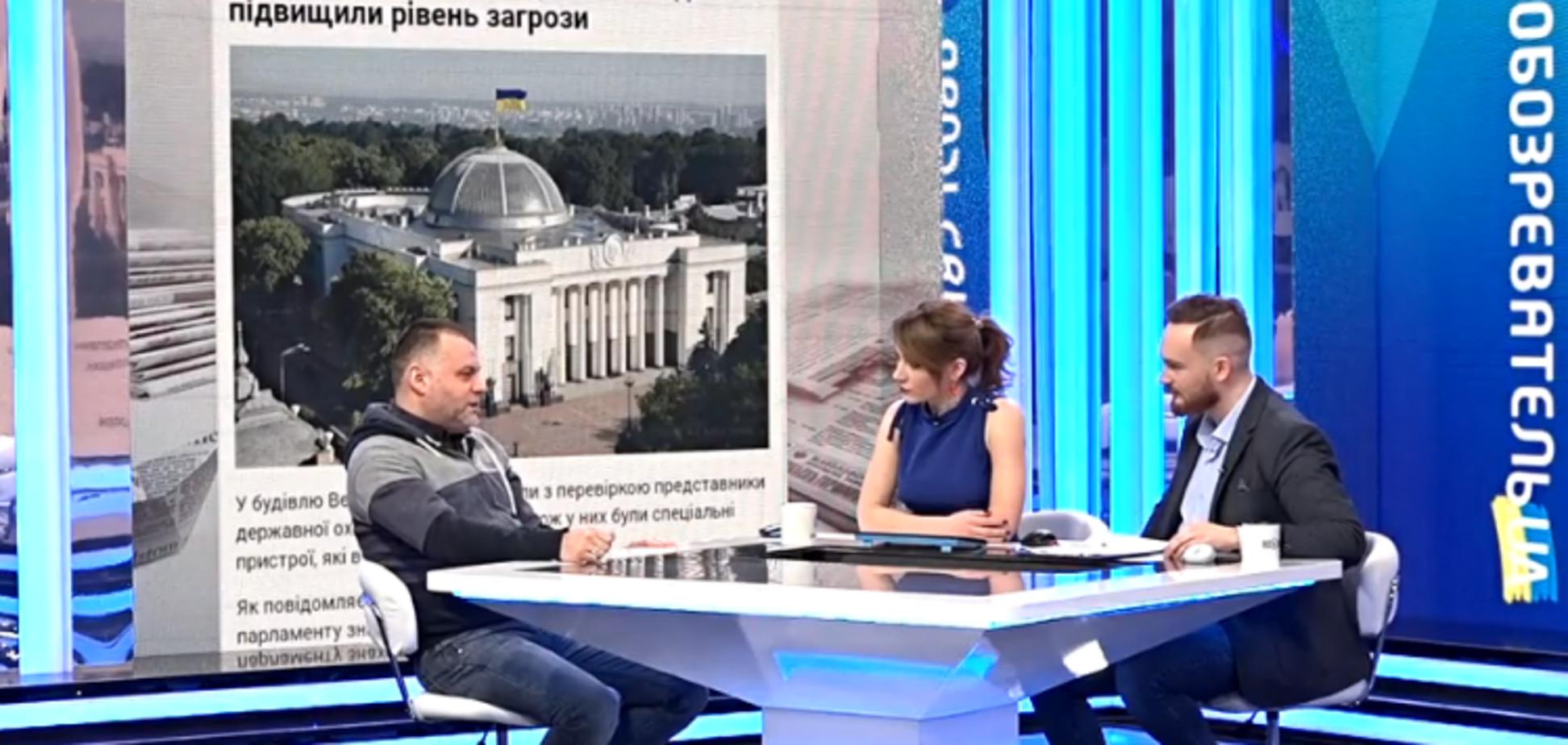 Теракт Савченко: Колесников объяснил, сколько гранат нужно, чтобы уничтожить Раду