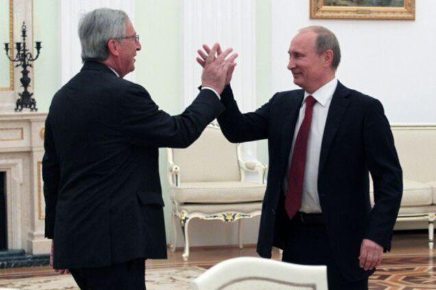 Ганьба: Юнкер оскандалився через привітання Путіна з перемогою