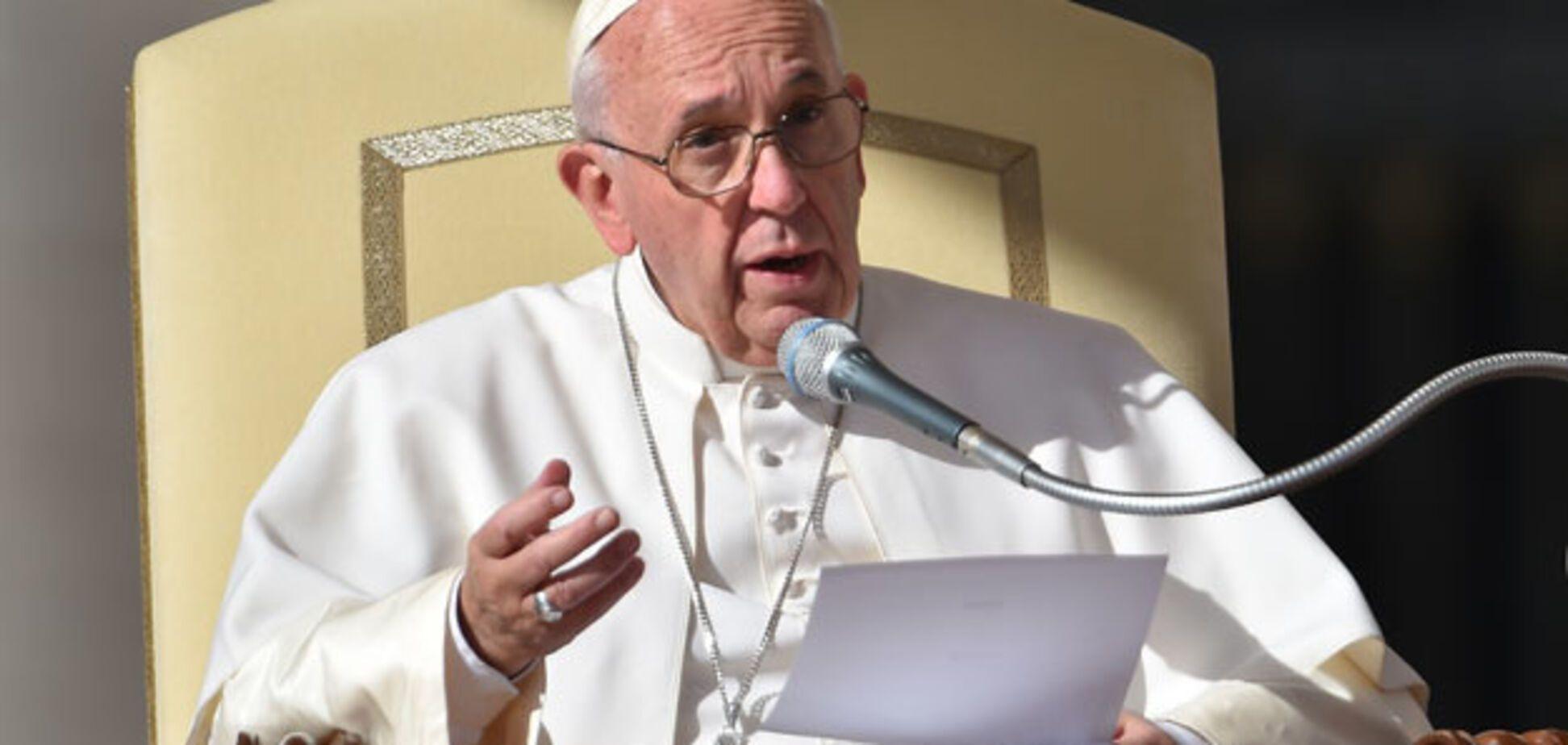 Ватикан назвав умову візиту Папи Франциска в Україну