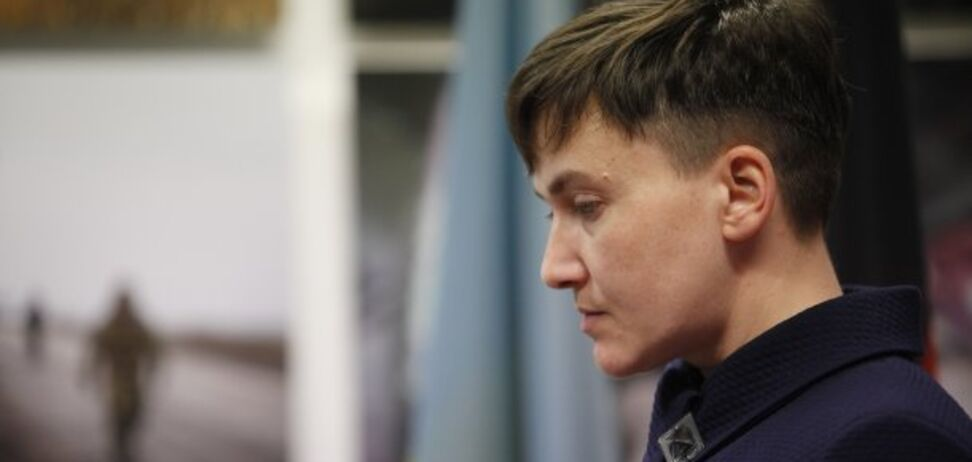 Савченко просто дурэпа, у нее не хватит смазки в голове сыграть роль в Павловке