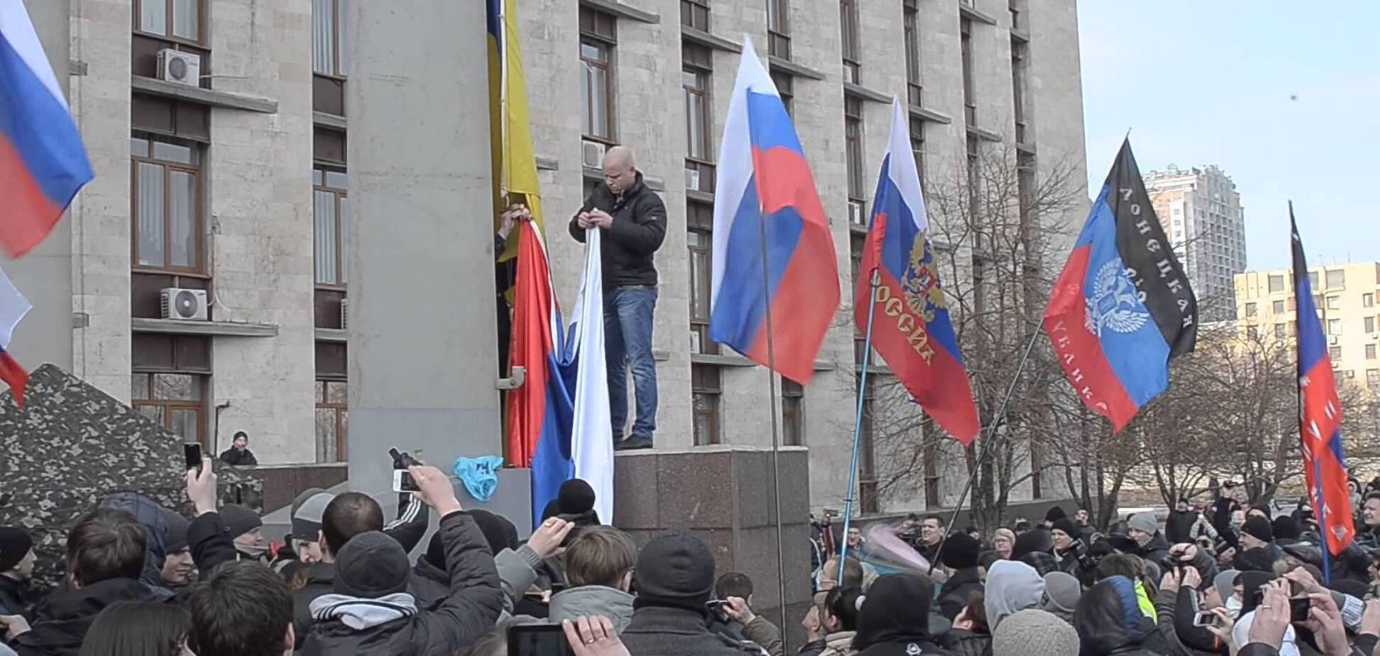 'Навіть і десятків не було': ватажок 'ДНР' розвінчав масовість 'русской весны'