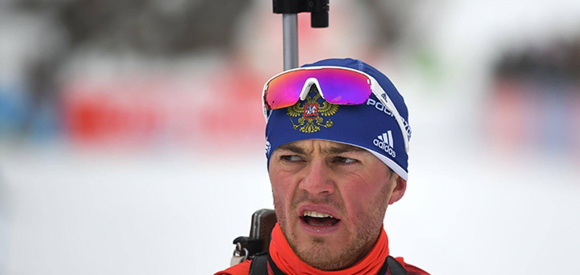 Біатлоніст збірної Росії заплакав в прямому ефірі - опубліковано відео