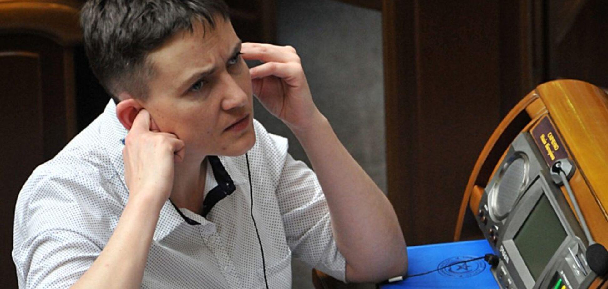 З каструлею по кухні: психолог поставила Савченко невтішний діагноз
