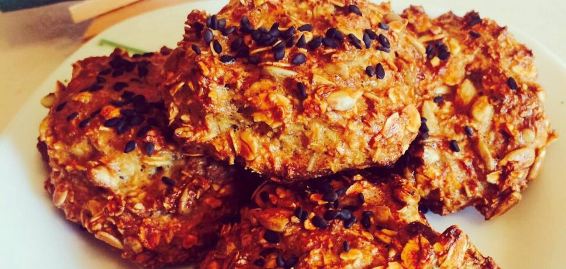 Полезный шедевр: овсяное печенье без сахара