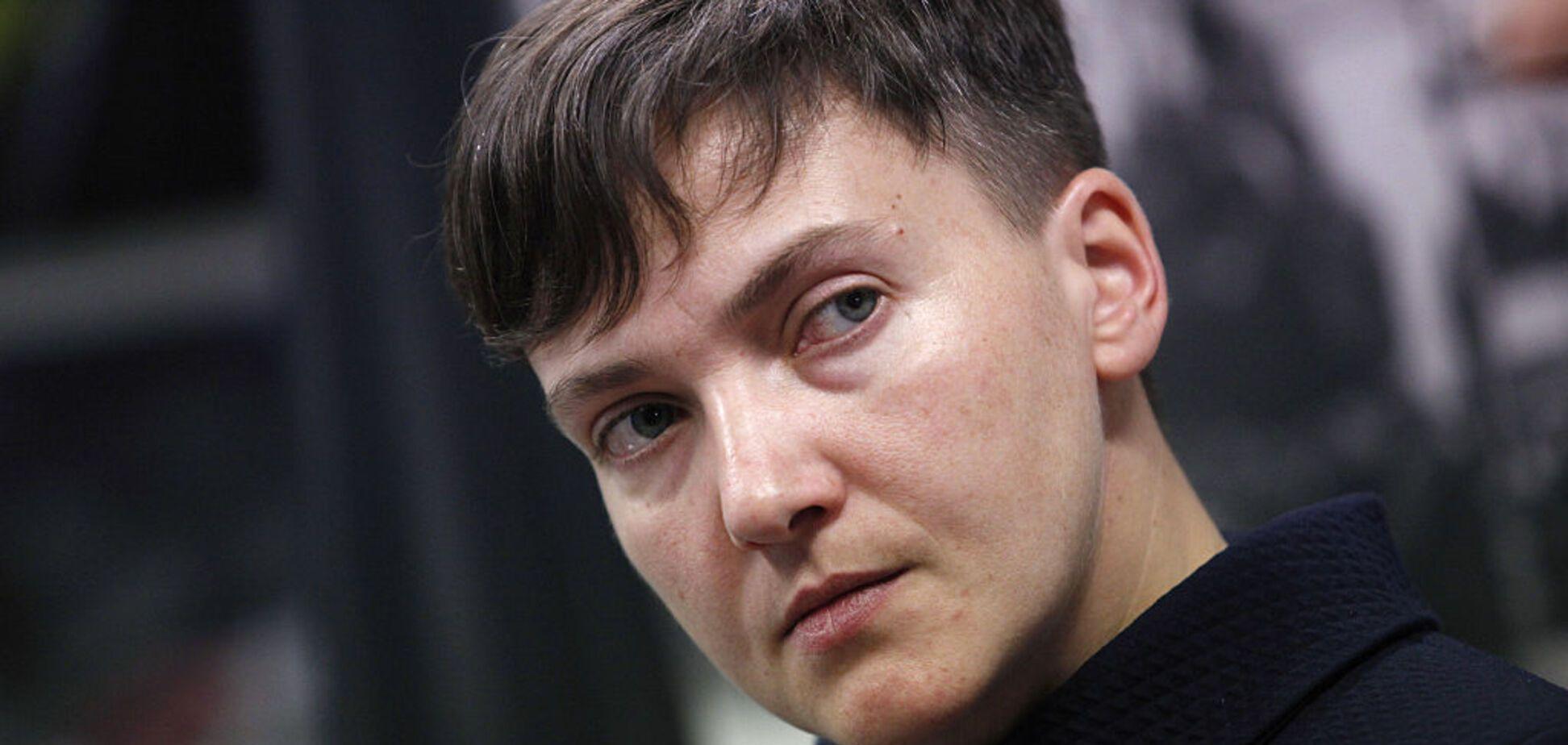 Стало известно о мощных покровителях Савченко в верхушке власти