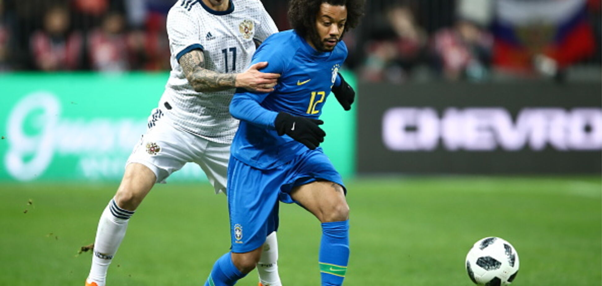 Бразилія принизила Росію в товариському матчі