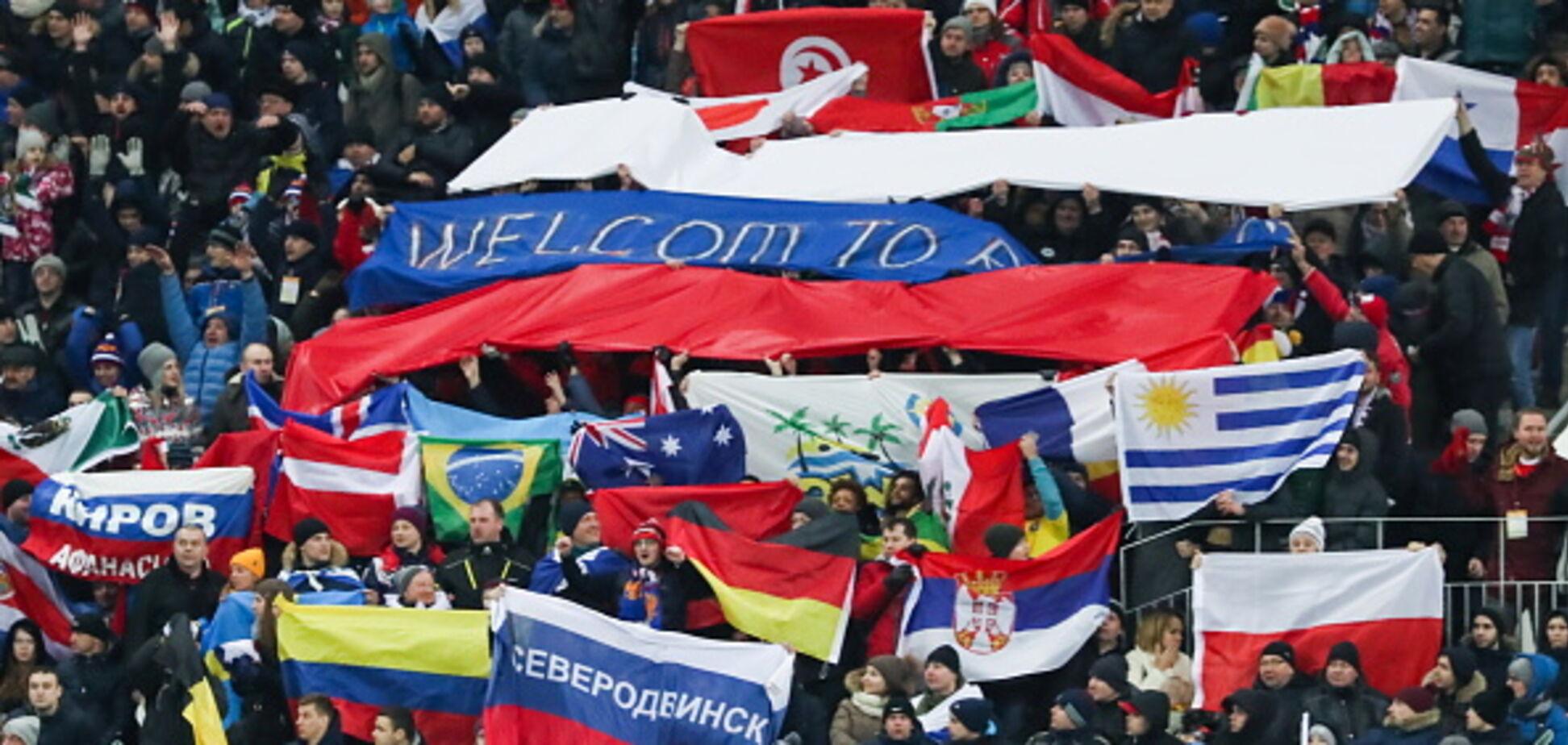 Стало відомо про жахливу організації матчу Росія - Бразилія