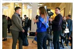 Голодування Савченко викликала бурхливу реакцію бійця АТО