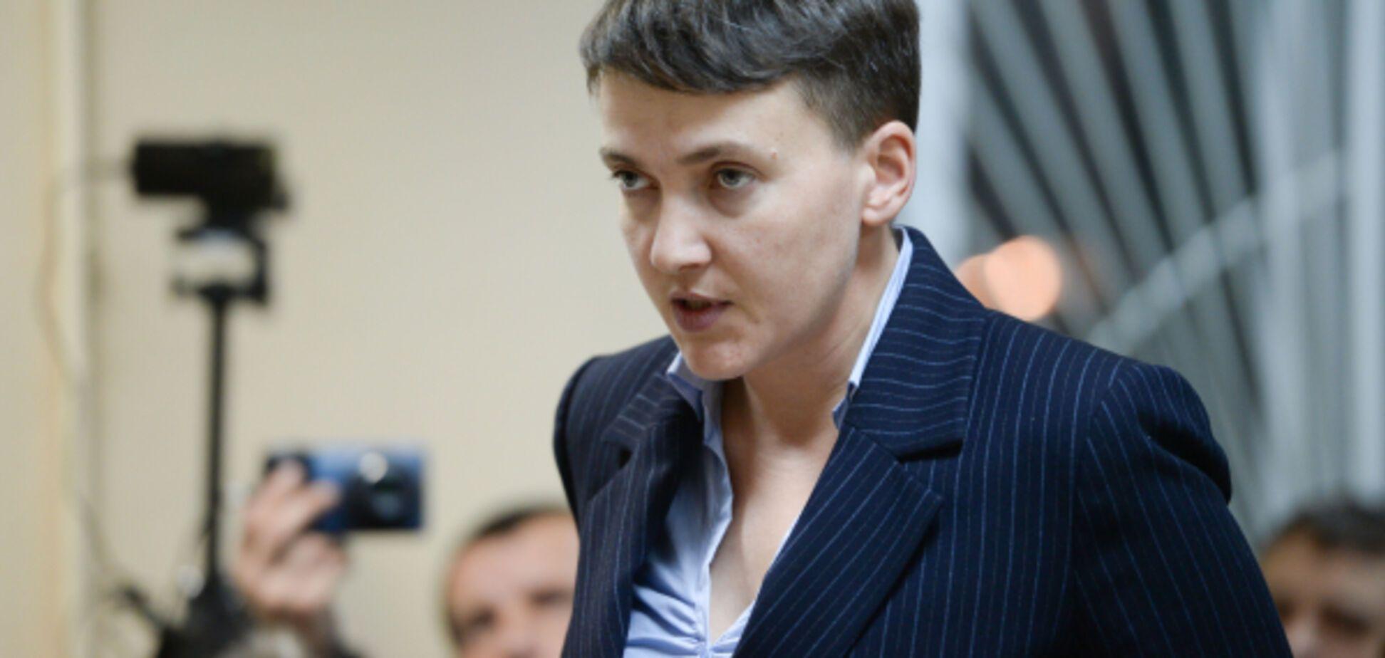 Омбудсмен заступилася за Савченко