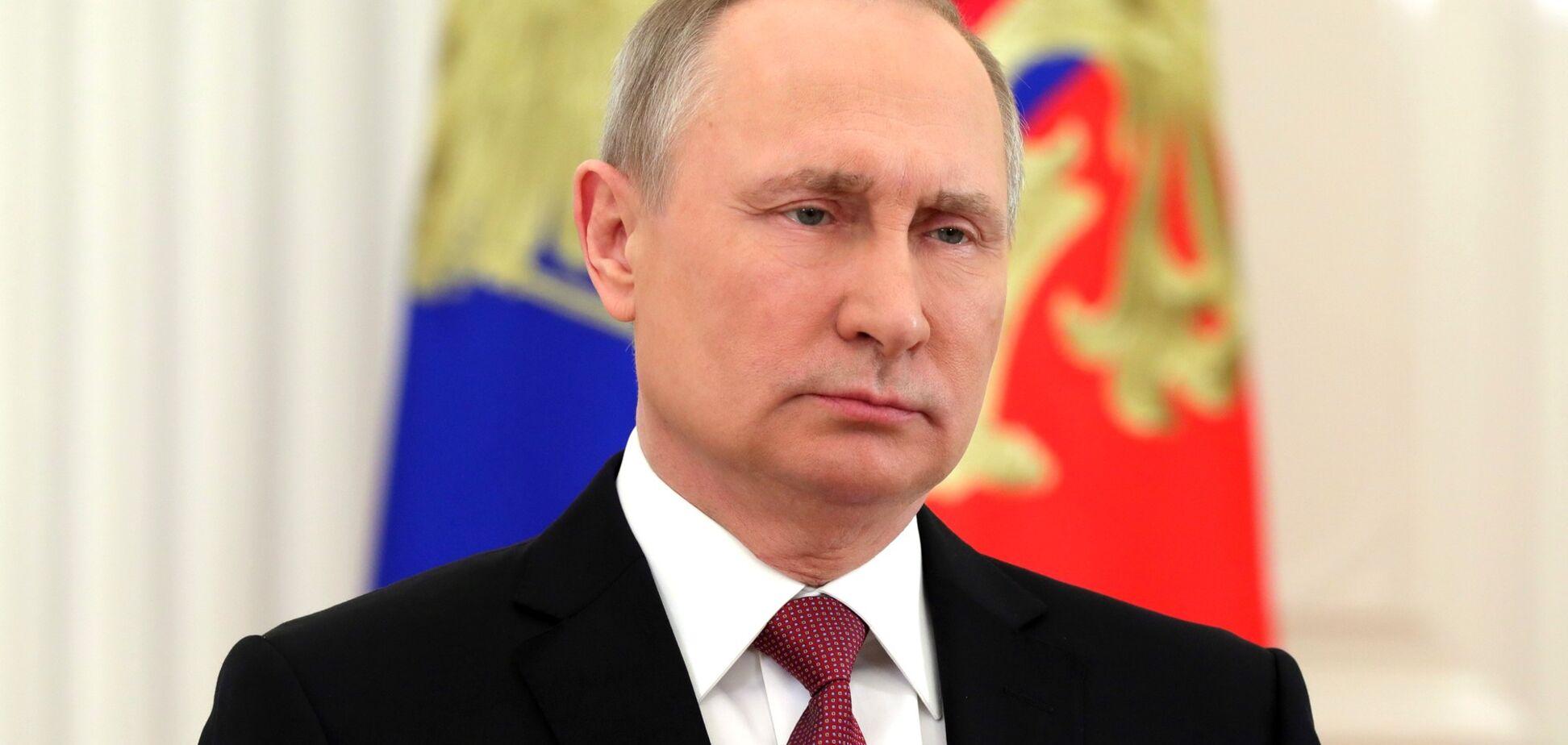 Коронацію Путіна висміяли влучною карикатурою