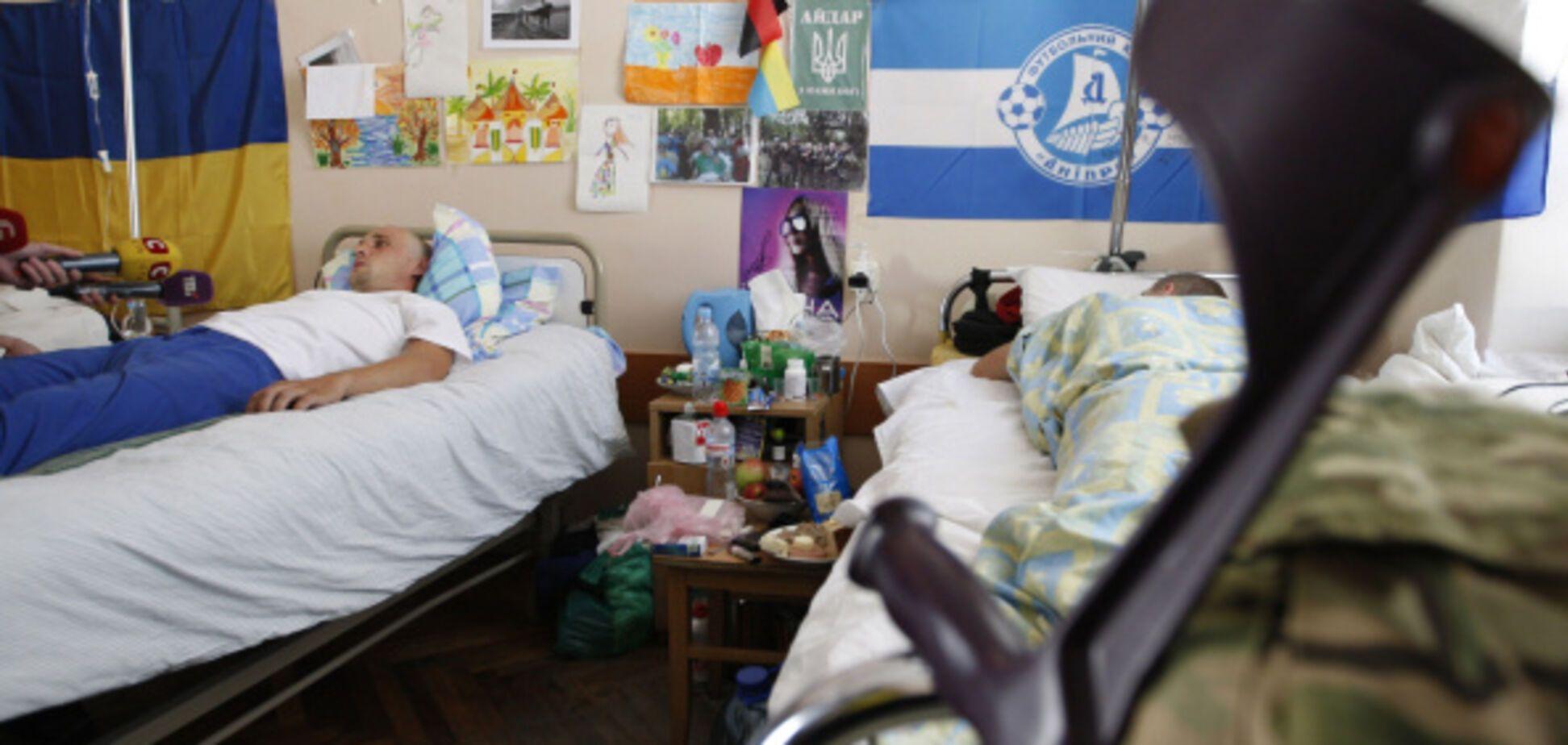 Лосось, броколі та червона риба: чим годують в київському військовому госпіталі