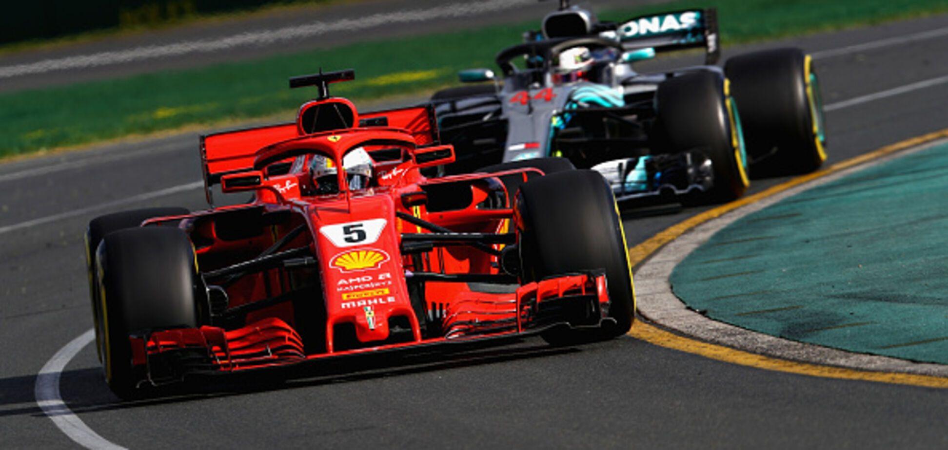 Формула-1: неймовірний збіг обставин принiс перемогу Ferrari на Гран-прі Австралії