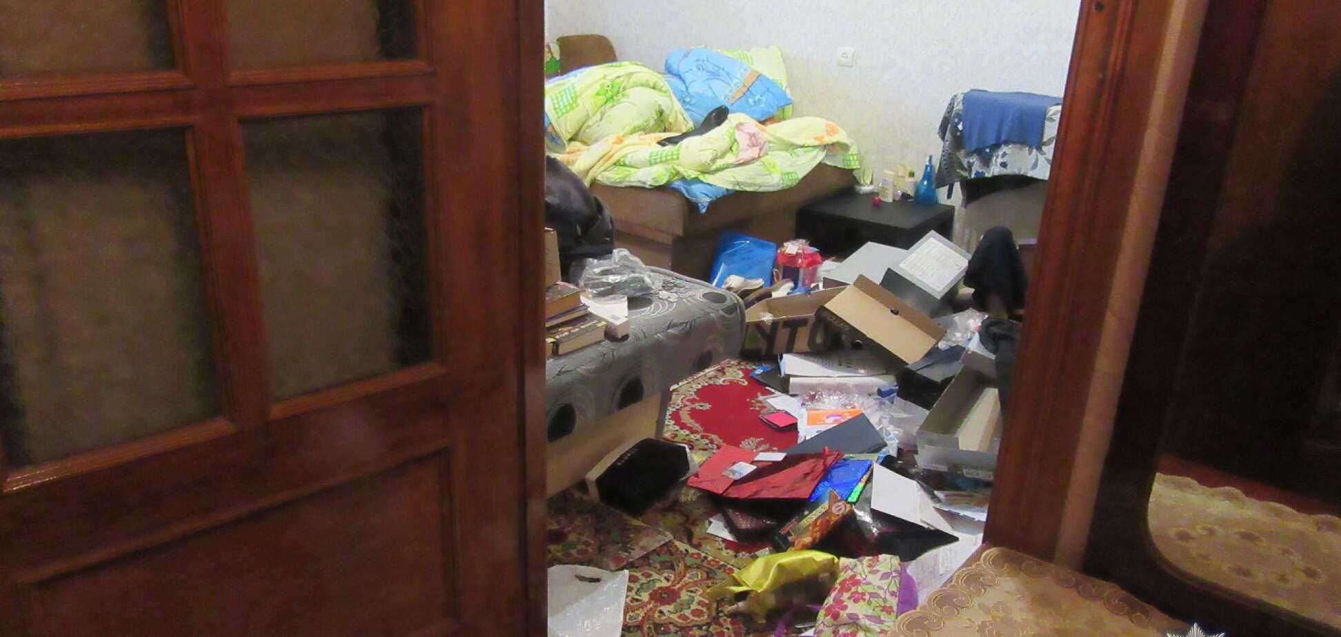 У Києві затримали серійного квартирного злодія: опубліковані фото злому