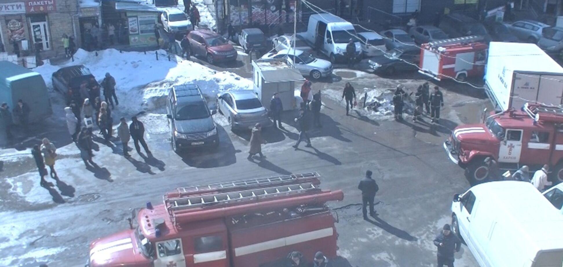 Люди задихалися і губилися в диму: в Харкові ледь не повторилася кемеровська трагедія