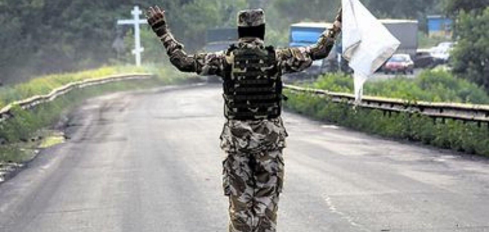 На Донбассе объявили 'пасхальное' перемирие