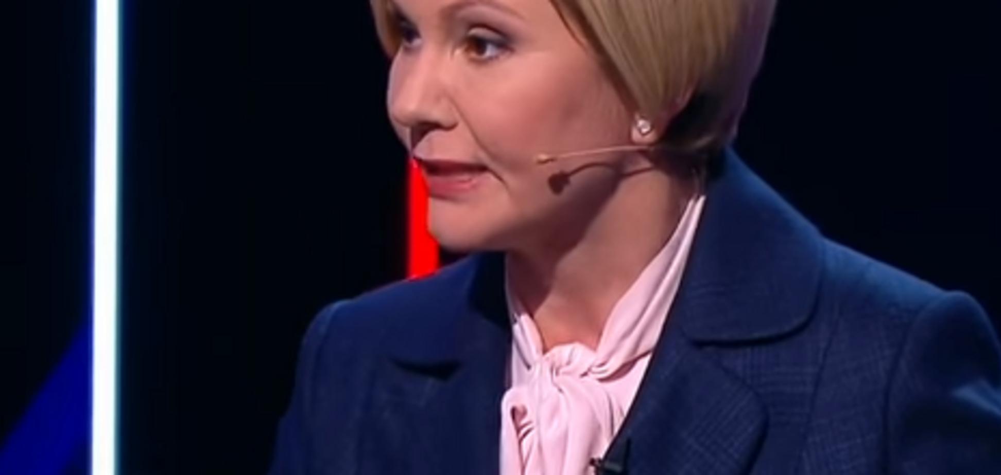 'Не позорьте Украину!' Сбежавшая экс-регионалка выругалась на российском ТВ