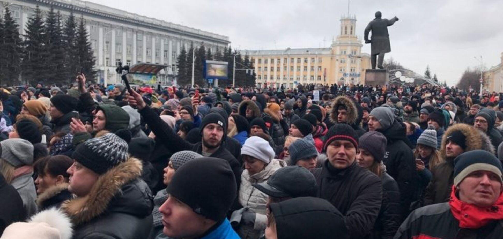 Протест в Кемерово