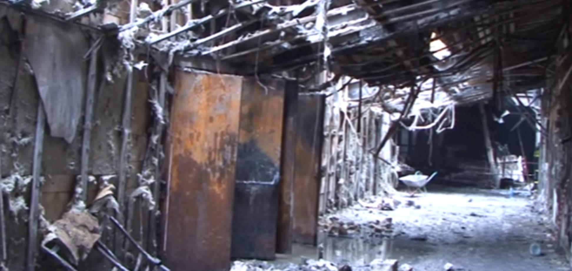 Як виглядає ТРЦ у Кемерово після пожежі: опубліковано моторошне відео