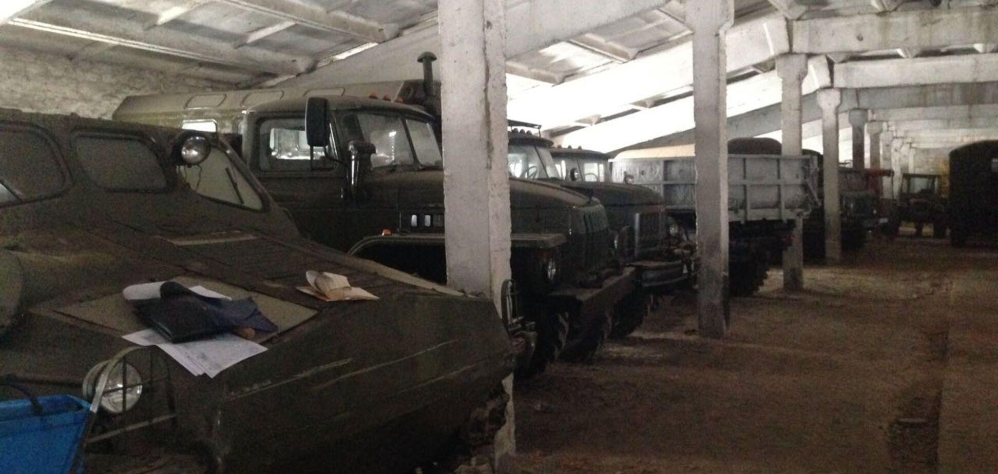 Поки йде війна: на Житомирщині знайшли вкрадену у армії техніку