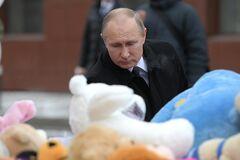 'Згорите від сорому': художник показав головних 'постраждалих' в Кемерово