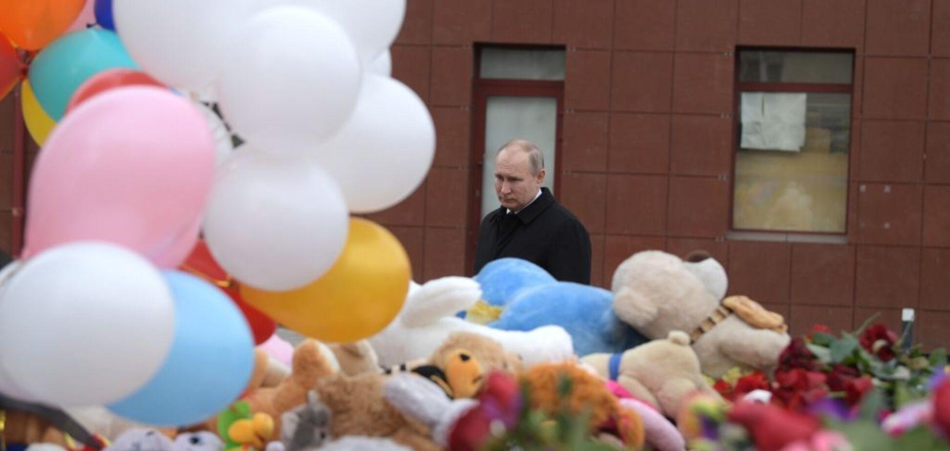 Россияне, пусть у вас горит в каждом городе каждый божий день