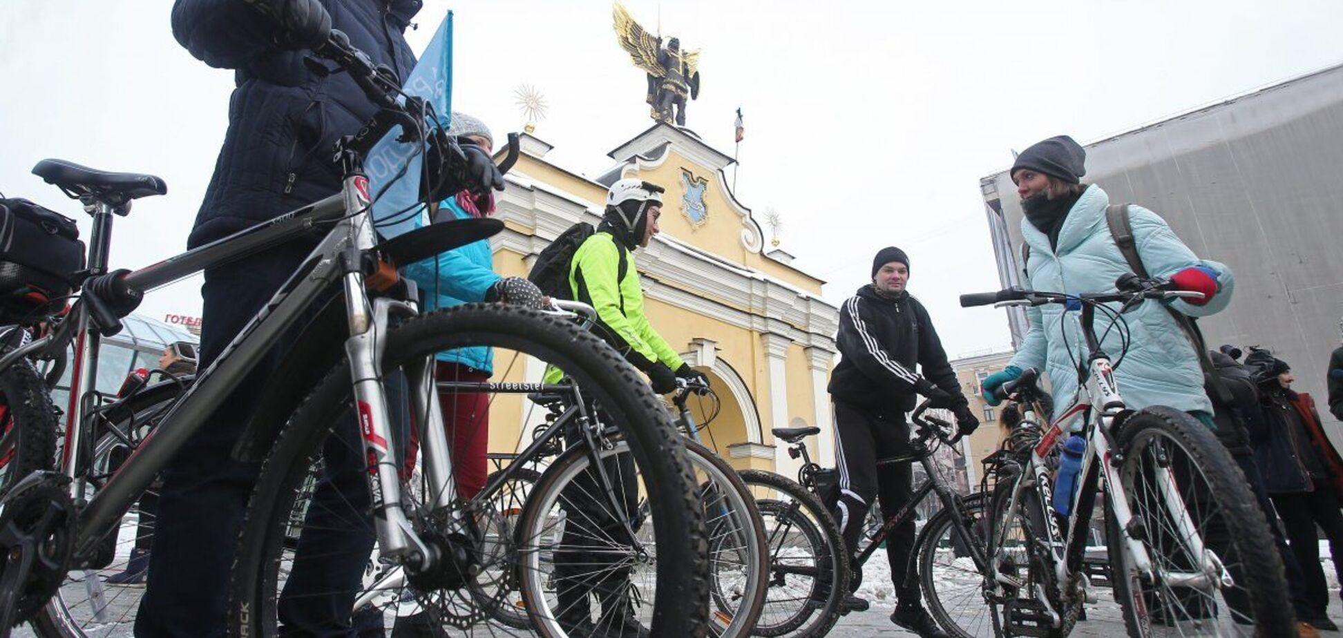 Киянам пропонують приїхати на роботу на велосипеді
