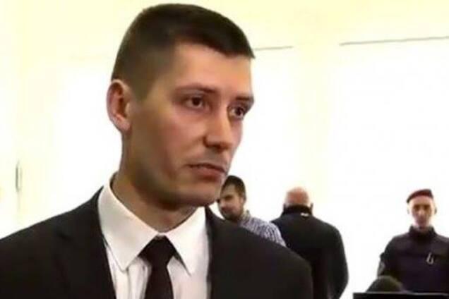 Андрей Перов, прокурор САП, который получил выговор за неадекватное поведение
